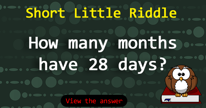 How Many Months Have 28 Days