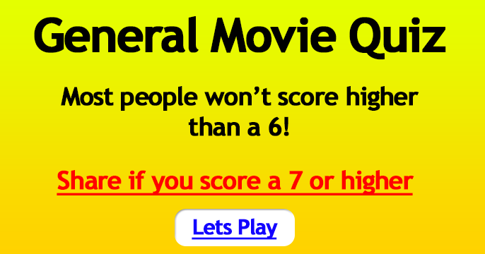 General Movie Quiz