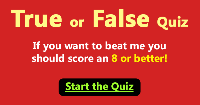 true or false questions with answers general knowledge pdf