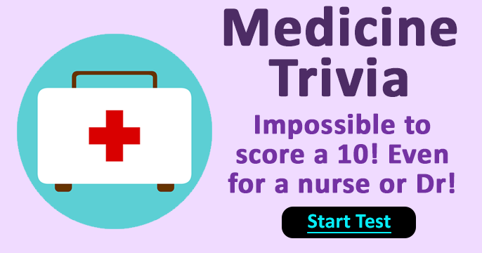 Challenging Medicine Trivia Quiz