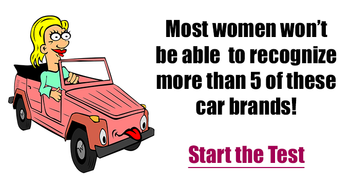 Car Brands Starting With F >> Most Women Won T Recognize More Than 5 Out Of 10 Car Brands